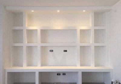 Scaffali In Cartongesso.Come Realizzare Una Libreria In Cartongesso Esperto In Casa
