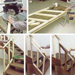 costruire una ringhiera in legno