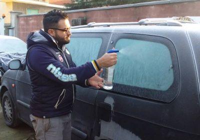 come sbrinare i vetri della macchina con il fai da te