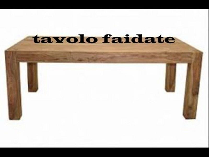 Come costruire un tavolo da giardino in legno esperto - Costruire un tavolo allungabile ...