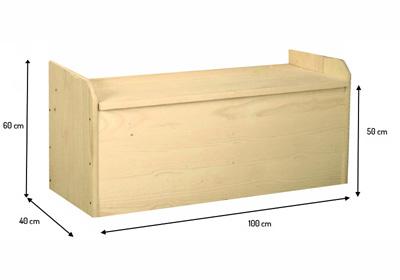 Come costruire una cassapanca in legno fai da te esperto in casa - Fare una casa in legno ...
